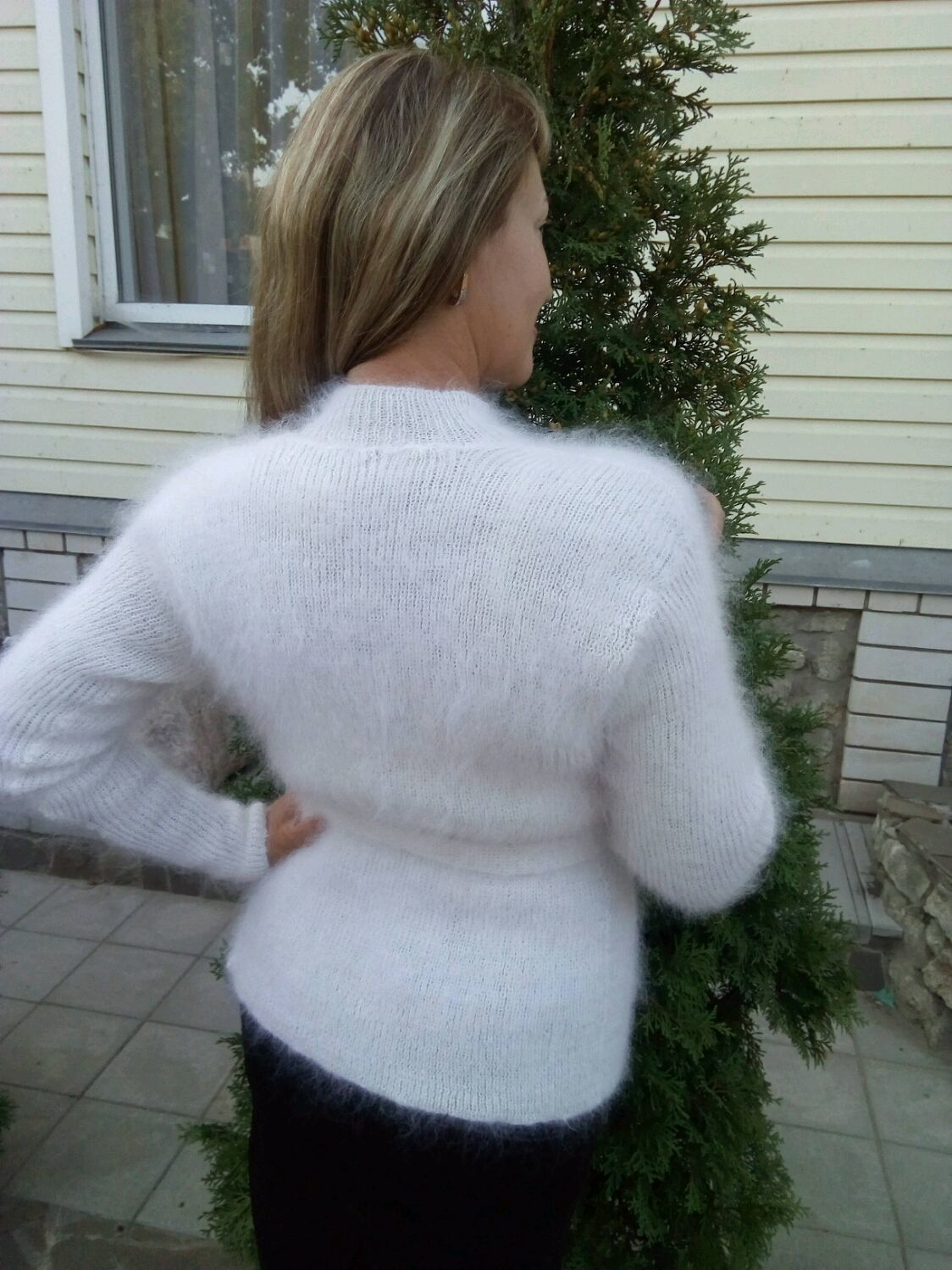 Sweater Jackets & Sweaters handmade. Livemaster - handmade. Buy Down jacket warm charm.Fetish, the garments