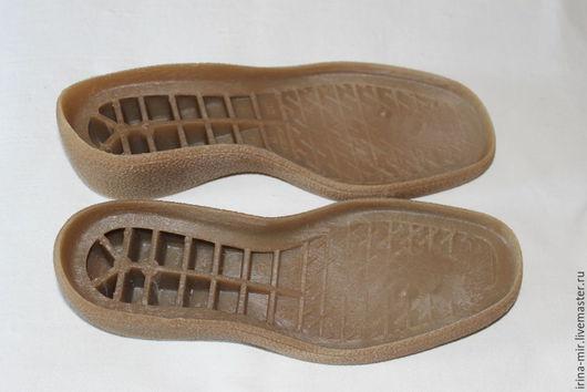 Другие виды рукоделия ручной работы. Ярмарка Мастеров - ручная работа. Купить Подошва для валяной обуви Моника 4. Handmade.