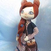 Куклы и игрушки ручной работы. Ярмарка Мастеров - ручная работа Кукла СИМА  (кошек много не бывает). Handmade.