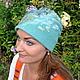 Шапки ручной работы. Заказать шапка зима-осень. Синичка (Зыряева Надежда) (sini4ka-13). Ярмарка Мастеров. Шапка зимняя