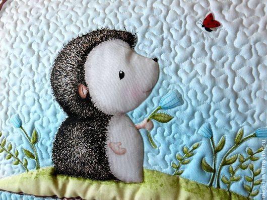 """Пледы и одеяла ручной работы. Ярмарка Мастеров - ручная работа. Купить Детское одеяло """"Друзья"""" Одеяло для мальчика. Для девочки. Handmade."""