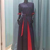 Одежда ручной работы. Ярмарка Мастеров - ручная работа Платье с двойной юбкой. Handmade.