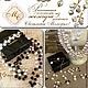 Модные авторские украшения из натуральных камней и жемчуга длинные бусы в стиле Шанель купить красивую бижутерию ручной работы в Москве