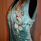 Одежда handmade. Livemaster - original item Quilted vest
