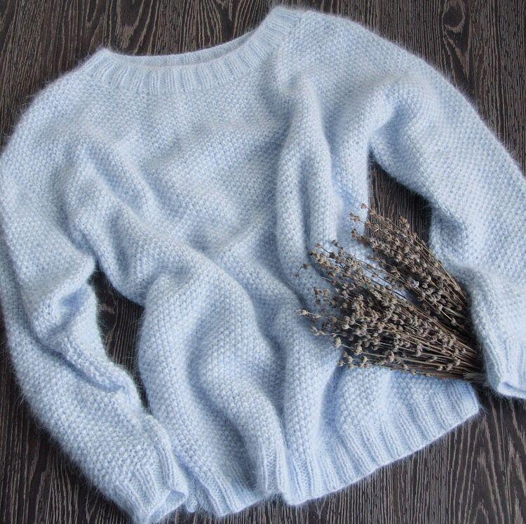 Купить свитер из ангоры женский
