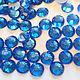 Стразы Aroshirva горячей фиксации цвет Sapphire\r\nss16 упаковка 10 гросс - 460руб