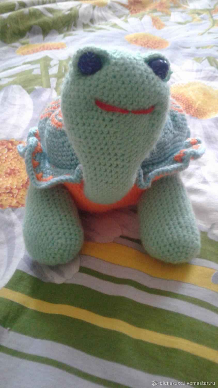 черепашка-Дилли, Мягкие игрушки, Краснодар,  Фото №1