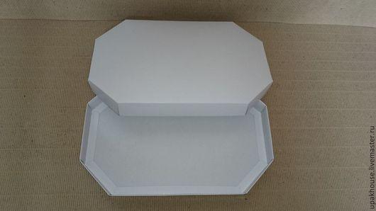 Упаковка ручной работы. Ярмарка Мастеров - ручная работа. Купить крышка+дно восьмиугольник. Handmade. Коробка для хранения, подарочная упаковка