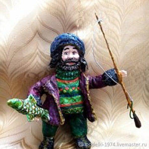 Рыбак, Куклы и пупсы, Заволжск,  Фото №1