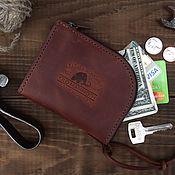 Wallets handmade. Livemaster - original item Wallets: Zipper. Handmade.