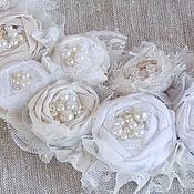 Украшения handmade. Livemaster - original item Necklace textile