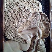 Картины и панно handmade. Livemaster - original item Picture of wood Pegas. Handmade.