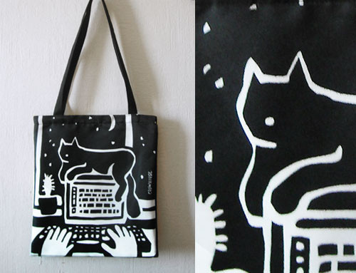 Bags & Accessories handmade. Livemaster - handmade. Buy Bag 'the cat and the Cactus'.Bag