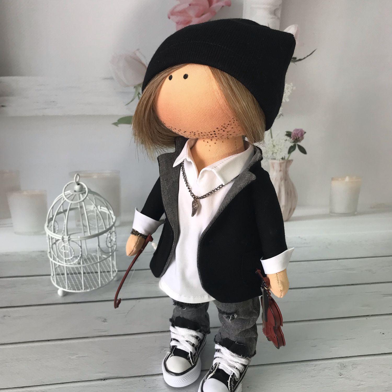 Текстильная кукла, Портретная кукла, Старый Оскол,  Фото №1