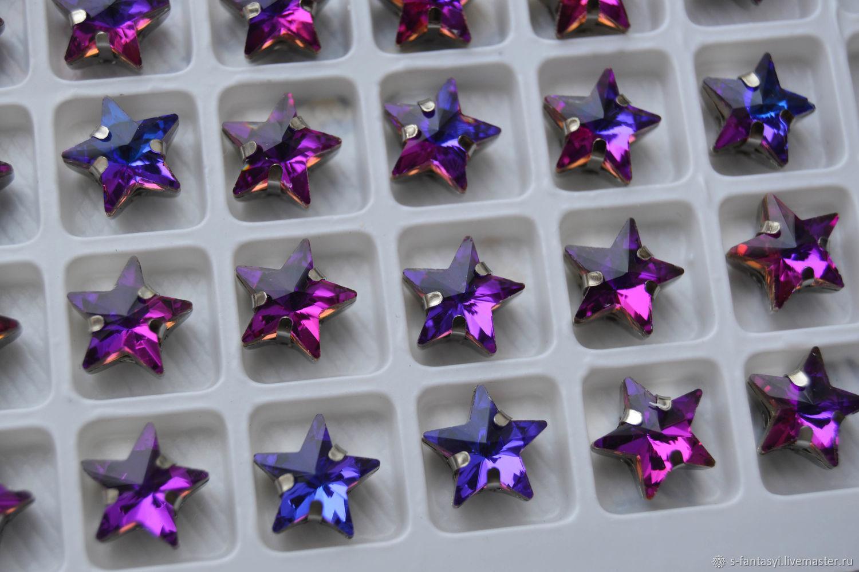 Star 10 mm Amethyst, Crystals, Stavropol,  Фото №1