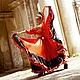 """Танцевальные костюмы ручной работы. Ярмарка Мастеров - ручная работа. Купить Костюм для фламенко или цыганского танца """"Эстела"""". Handmade."""