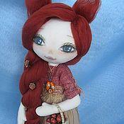 Куклы и игрушки ручной работы. Ярмарка Мастеров - ручная работа Кукла ЛиSонька. Handmade.