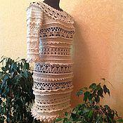 """Одежда ручной работы. Ярмарка Мастеров - ручная работа Платье """"Бизе рюш"""". Handmade."""