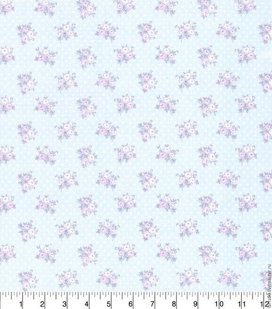 Шитье ручной работы. Ярмарка Мастеров - ручная работа. Купить Хлопок Shabby Chic Floral Dot США. Handmade.