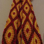 Аксессуары handmade. Livemaster - original item Kumihimo belt Gold snake. Handmade.