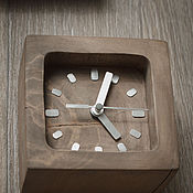Для дома и интерьера ручной работы. Ярмарка Мастеров - ручная работа Часы настенные из массива яблони. Handmade.