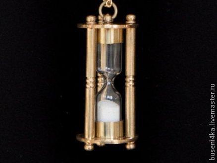 Для украшений ручной работы. Ярмарка Мастеров - ручная работа. Купить Подвеска Песочные часы №7 (1шт). Handmade.