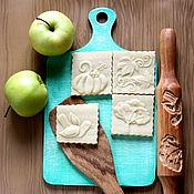Для дома и интерьера ручной работы. Ярмарка Мастеров - ручная работа Скалка осень на четыре картинки в подарок по любому поводу. Handmade.