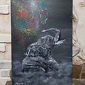 Картины и панно handmade. Livemaster - original item Oil painting/canvas of Emotions. Handmade.