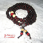 Фен-шуй и эзотерика handmade. Livemaster - original item A rosary of red sandalwood. Handmade.
