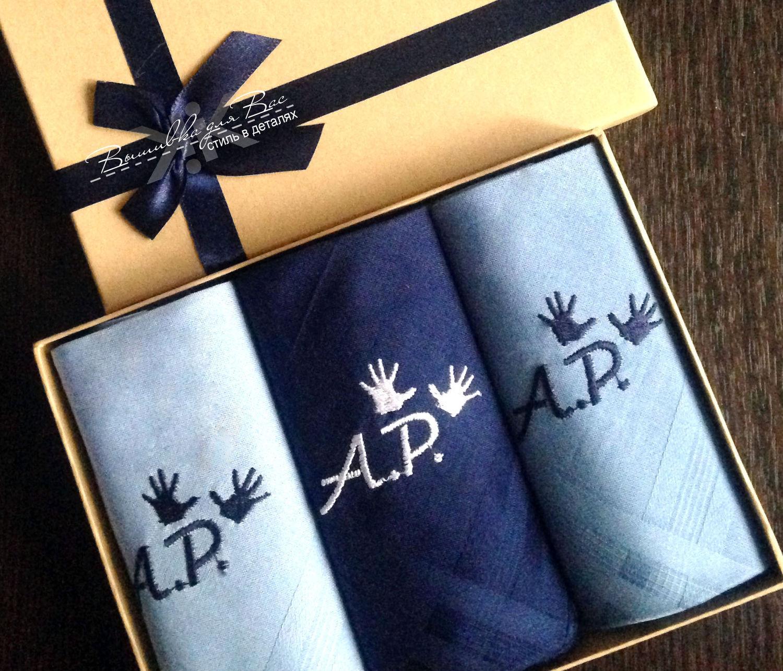 ... handkerchief men`s bow embroidery monogram monogram initials drawing  hands ...