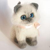 Куклы и игрушки handmade. Livemaster - original item Kitten small) toy of felt. Handmade.
