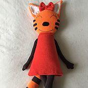Мягкие игрушки ручной работы. Ярмарка Мастеров - ручная работа Кошка из популярного мультика. Handmade.