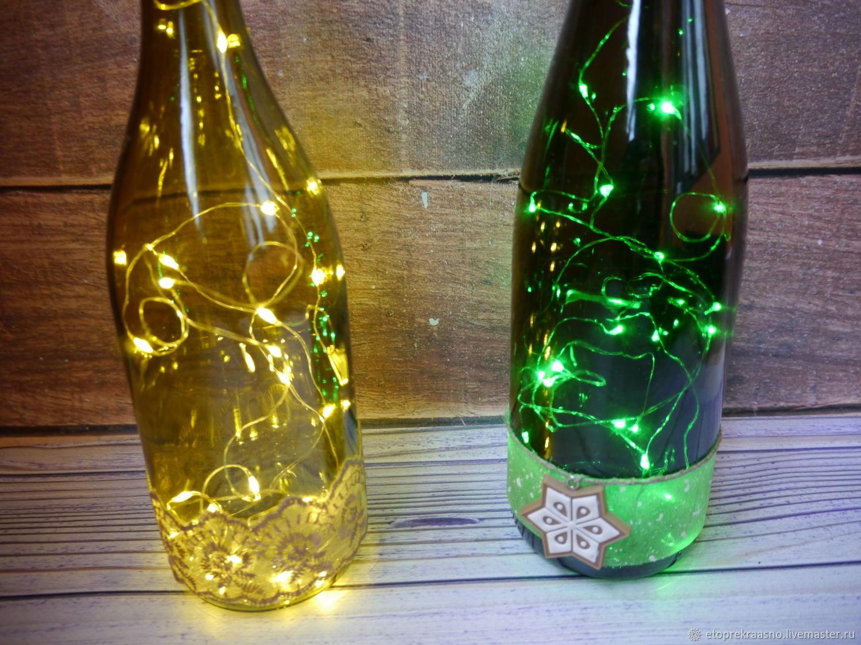 Бутылка с подсветкой