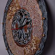 """Для дома и интерьера ручной работы. Ярмарка Мастеров - ручная работа Кельтские часы """"Древо жизни"""". Handmade."""