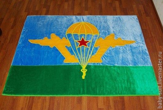 Детский коврик флаг ВДВ для малышей и детей