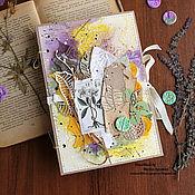 Канцелярские товары ручной работы. Ярмарка Мастеров - ручная работа Ботанический блокнот. Handmade.
