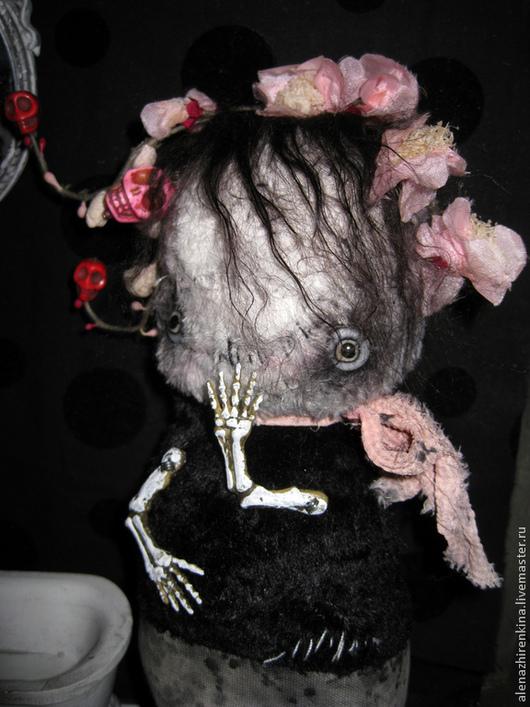 Коллекционные куклы ручной работы. Ярмарка Мастеров - ручная работа. Купить Гарри Потов и Ванная Комната.... Handmade. Розовый, шерсть