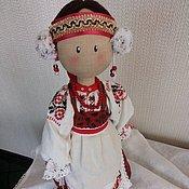 Куклы и игрушки ручной работы. Ярмарка Мастеров - ручная работа Кукла в русском костюме. Handmade.
