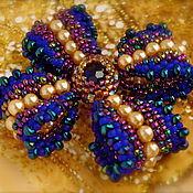 Украшения handmade. Livemaster - original item Brooch bow Glitter of Versailles. Handmade.
