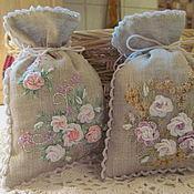 Для дома и интерьера handmade. Livemaster - original item bags sachet-country set 5. Handmade.