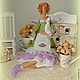 Куклы Тильды ручной работы. Ярмарка Мастеров - ручная работа. Купить Моник - фея Прованса (текстильная кукла в стиле Тильда). Handmade.