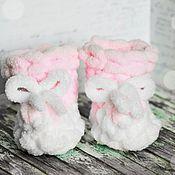 Пинетки ручной работы. Ярмарка Мастеров - ручная работа Пинетки для новорождённых. Handmade.