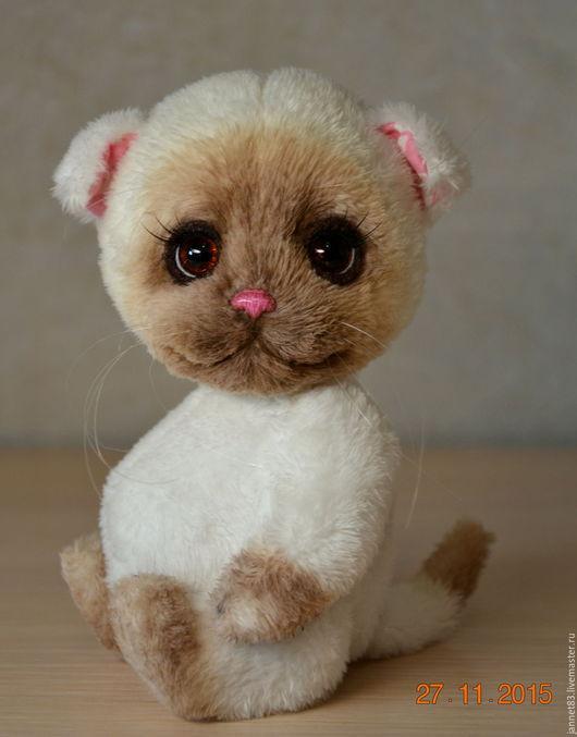 Мишки Тедди ручной работы. Ярмарка Мастеров - ручная работа. Купить Вислоухая кошечка. Handmade. Белый, ручная работа