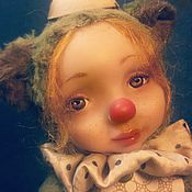 """Куклы и игрушки ручной работы. Ярмарка Мастеров - ручная работа Теддидолл """" Кнопочка"""". Handmade."""