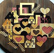 Материалы для творчества ручной работы. Ярмарка Мастеров - ручная работа наборы вырубки для открыток и альбомов. Handmade.