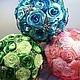 Свадебные цветы ручной работы. Ярмарка Мастеров - ручная работа. Купить Брошь букет, букет дублёр. Handmade. Брошь букет