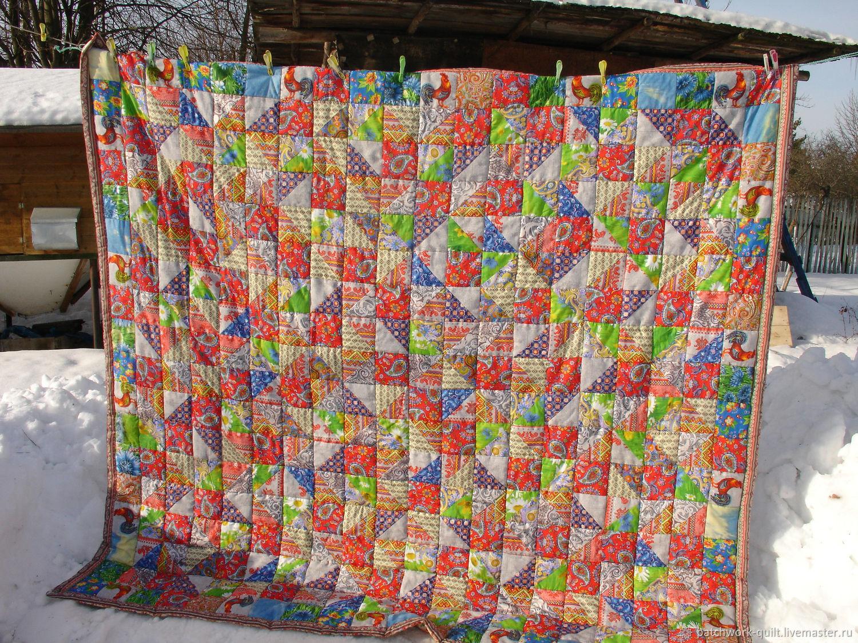 Лоскутное одеяло, Одеяла, Москва,  Фото №1