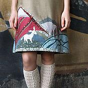 """Одежда ручной работы. Ярмарка Мастеров - ручная работа Сарафан """"За горами горы"""". Handmade."""