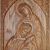 Иконы ручной работы. Ярмарка Мастеров - ручная работа Икона святых Петра и Февронии. Handmade.