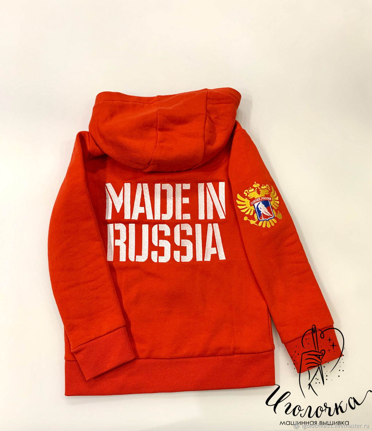 Children's sweater with embroidery, Sweater Jackets, Murmansk,  Фото №1